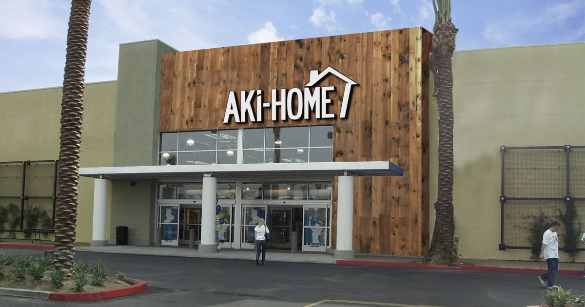 Aki Home Seeks To Open More U S, Aki Home Furniture Locations