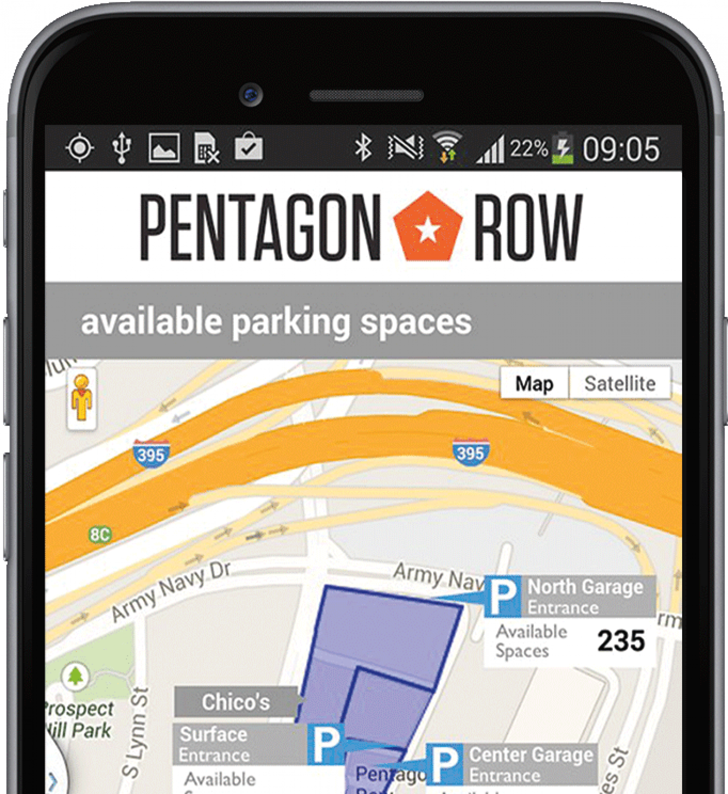 Federal Realty Investment Trust Has Created What It Calls One Of The Most  Advanced And Sustainable Parking Facilities In The U.S. At Its Pentagon Row  ...