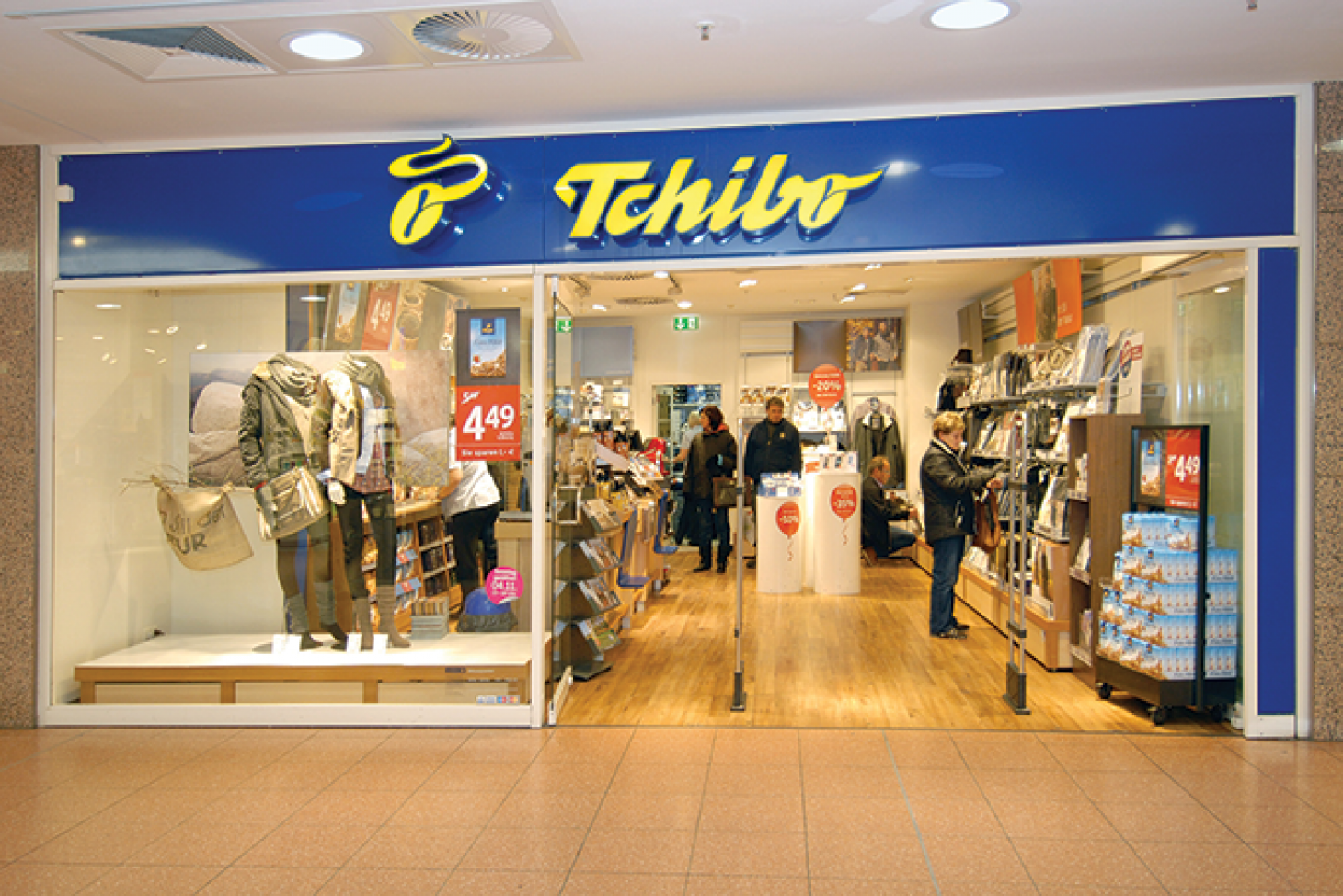 b3dbd551b8 Some people like a cookie with their coffee, but Tchibo's customers get a  whole lot more. Tchibo, a German coffee chain that offers an assortment of  ...