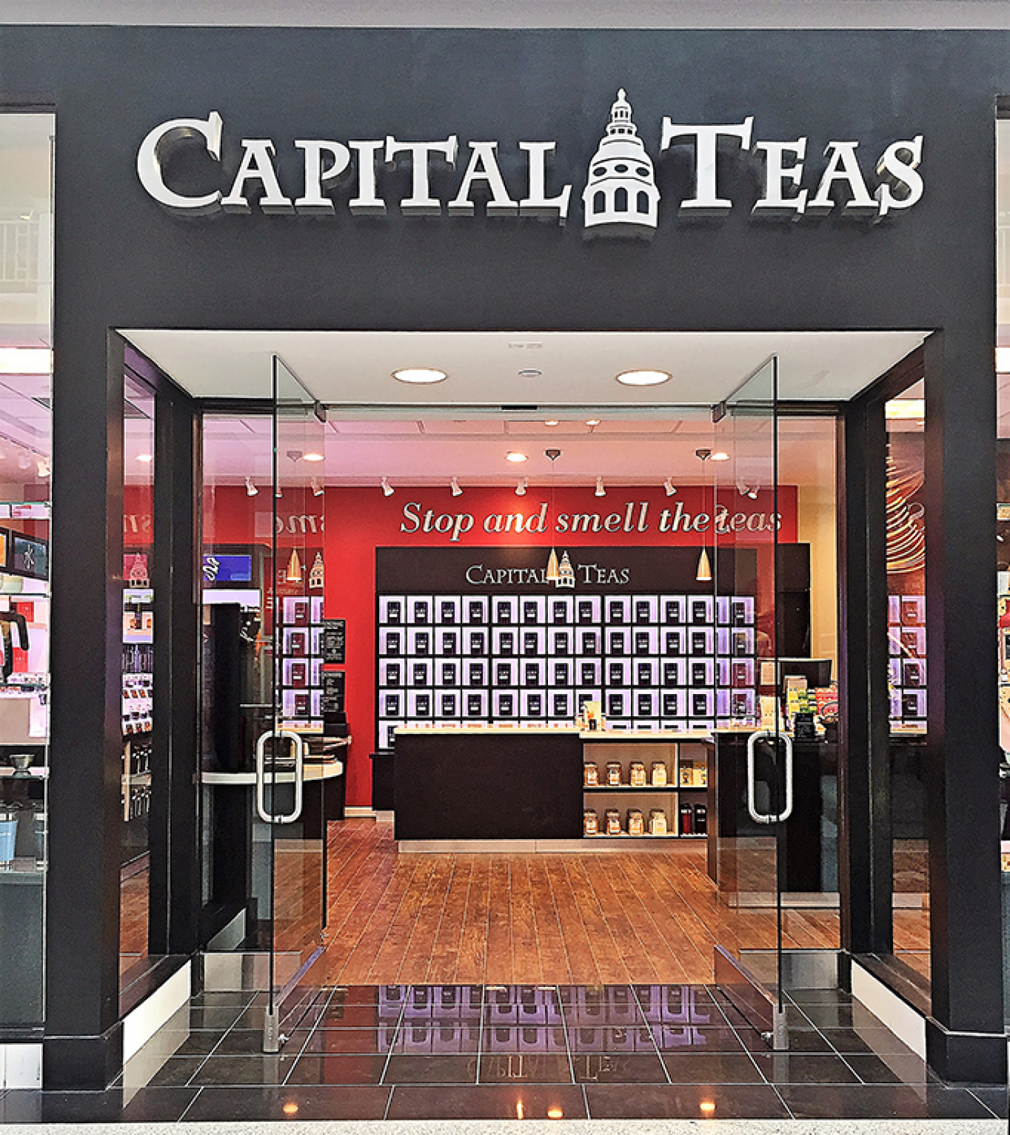 Capital Teas Wants To Be The Starbucks Of The Earl Grey Set Icsc