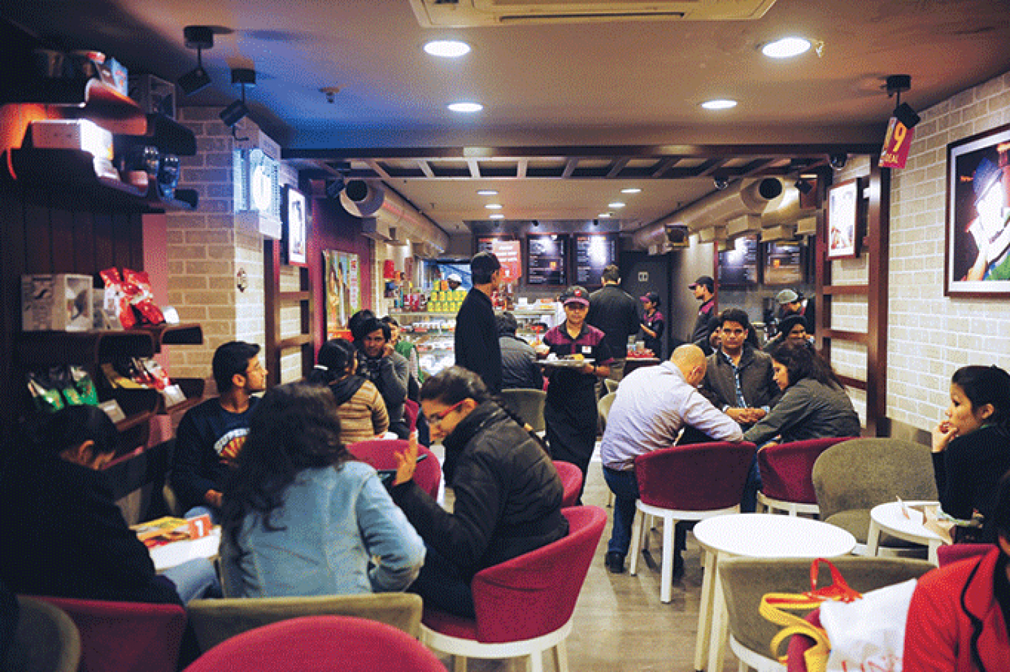 Smell The Revolution At Cafe Coffee Day Icsc International Council Of Shopping Centers