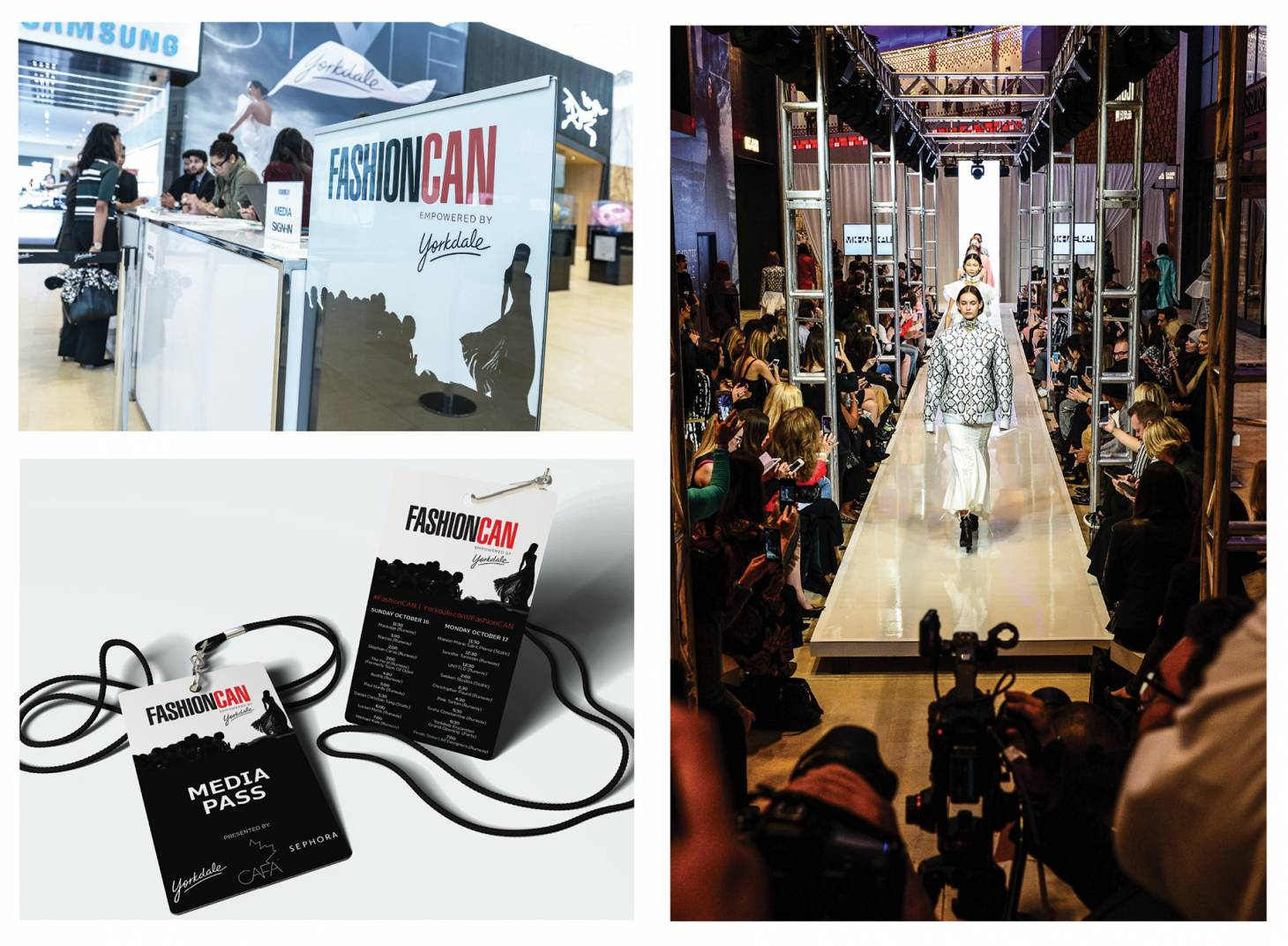 Marketing VIVA Winner Toronto s Yorkdale Shopping Centre staged a two-day  event called Yorkdale s FashionCAN 561bfbe59