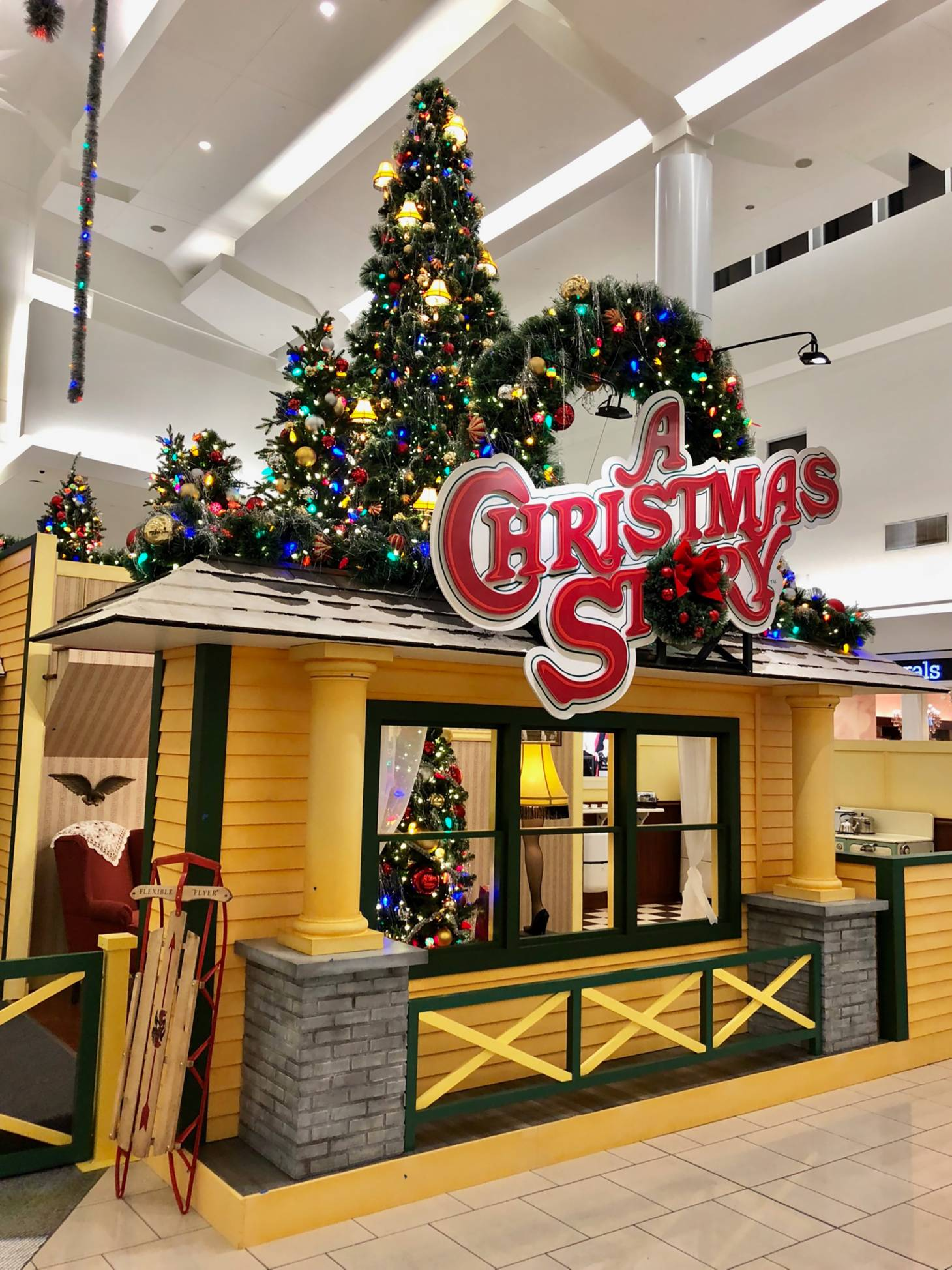 under the title a christmas story experience the set offered consumers a nostalgic environment that combined physical re creations of the sets and - When Is A Christmas Story Set