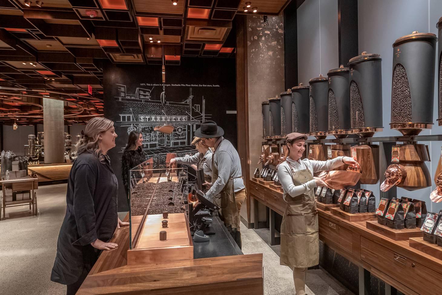 Starbucks Reserve Roastery New York Icsc International